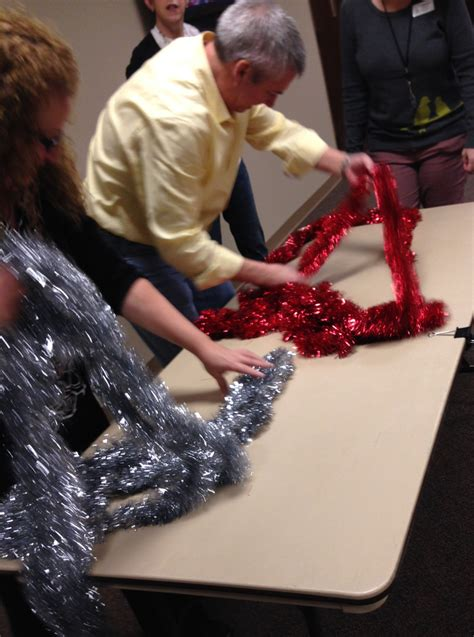 tinsel game  marks classroom