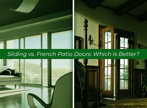 sliding vs patio doors which is better