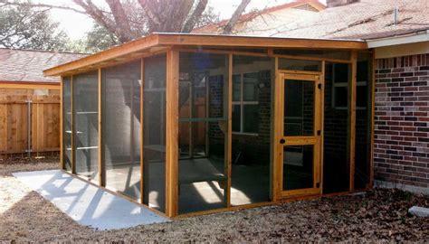 cat carpenter screen porches house idea