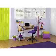 realspace brent dog leg desk oak computer desks at office depot officemax