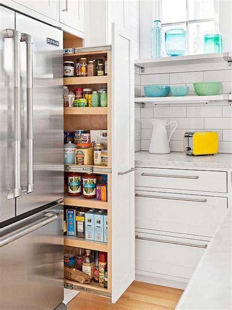cuisine frigo gain de place dans la cuisine astuces meubles et
