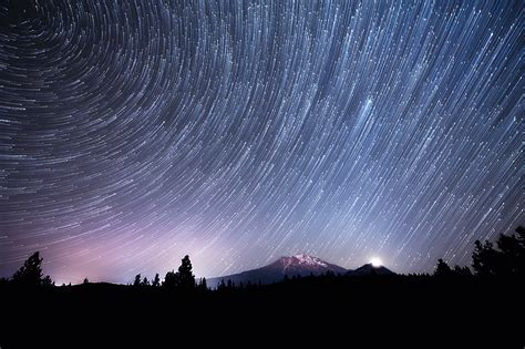 Time Lapse Video Of The Night Sky And The Milky Way