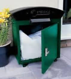 Extra Large Parcel Drop Box Capacity