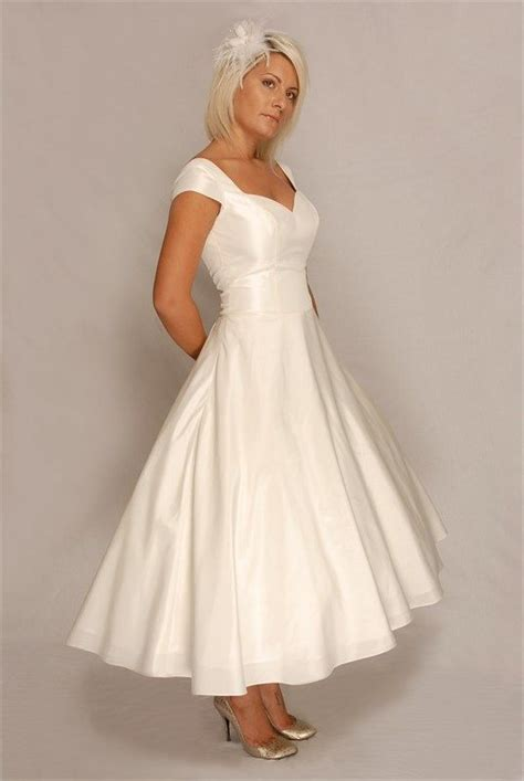 1950's memorabilia 1950s Style Wedding Dress Ivy £495
