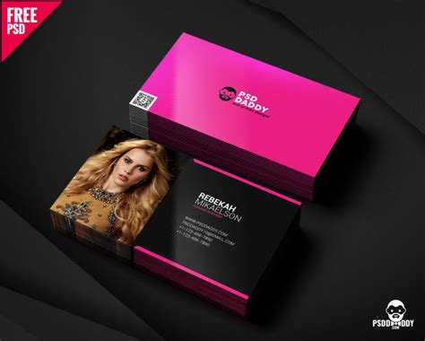 [free] Fashion Designer Business Card Free Psd