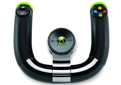 Xbox 360 Steering Wheel by Xbox 360 Gets An Official Wireless Steering Wheel