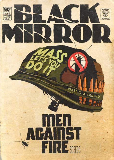 brasileiro reproduz episodios de black mirror em capas de hq