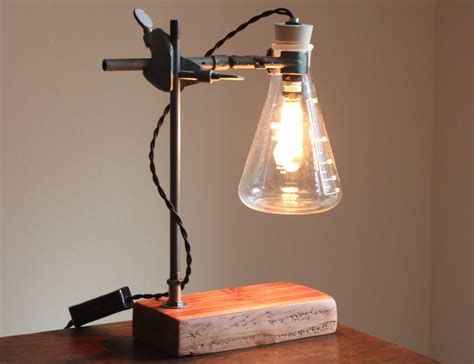 Industrial Desk Lamp Science Steampunk Table Light Cool