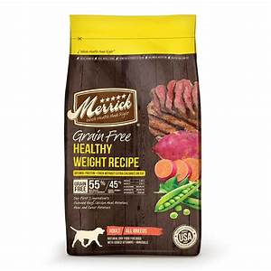 Merrick Grain Free Healthy Weight Dry Dog Food, 4 lb bag