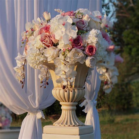 urn  pedestal hire wedding decorations  naz