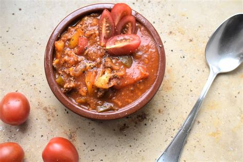 schnelle low carb gerichte schnelle paprikasuppe mit hackfleisch lachfoodies