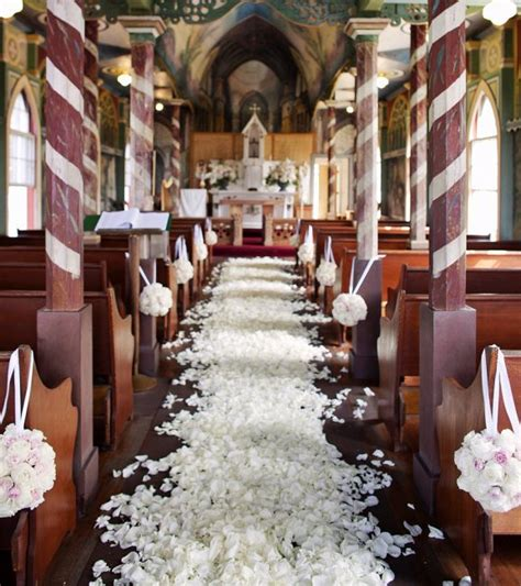 decorating for wedding ceremony at church church ceremony decorations archives weddings romantique