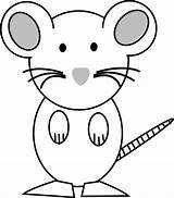 Mouse Coloring Maus Ausmalbilder Clipart Konabeun Malvorlagen sketch template