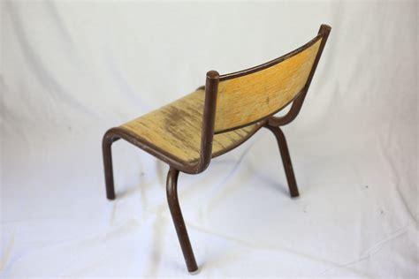 chaise écolier chaise écolier maternelle vintage zwickyfactory