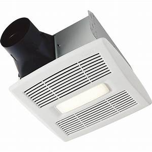 Buy Broan 80 Cfm Bath Exhaust Fan With Led Light White