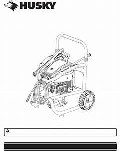 Husky Pressure Washer Hu80520 User Guide