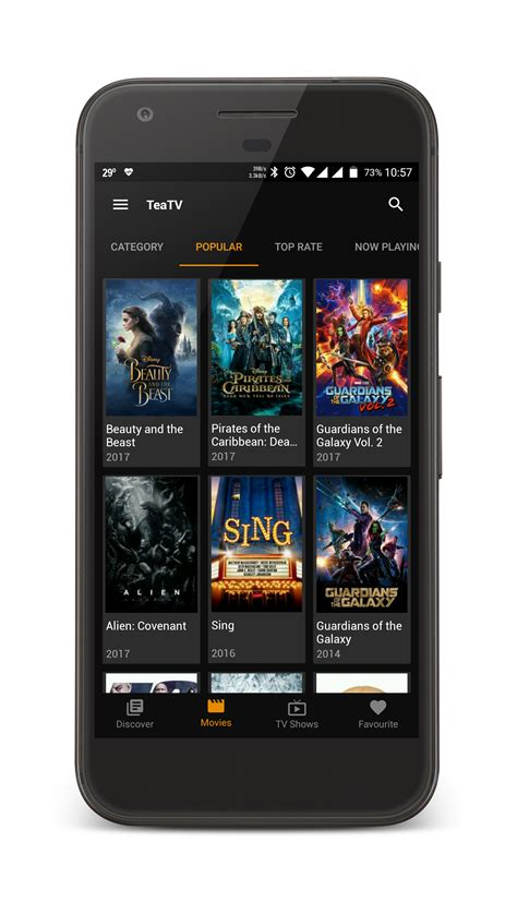 free tv on mobile teatv best free 1080p hd tv show app for mobile pc