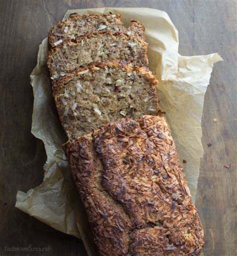 Coconut Pecan Banana Bread