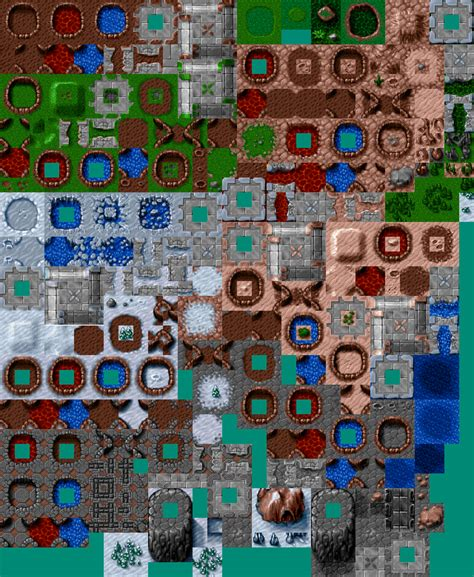 consolidated hard vacuum terrain tilesets opengameartorg