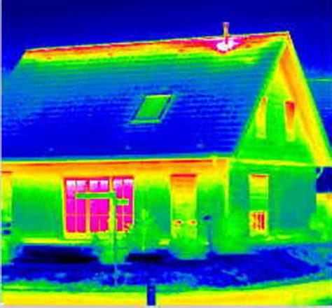 heat escaping attic space