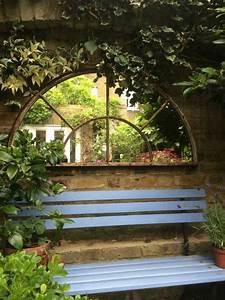 Décorer Un Mur Extérieur : miroir ext rieur pour une d co de jardin extraordinaire ~ Dailycaller-alerts.com Idées de Décoration