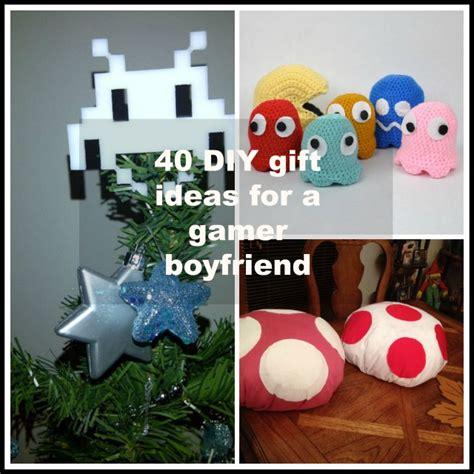 gift for gamer 40 diy gift ideas for a gamer boyfriend or