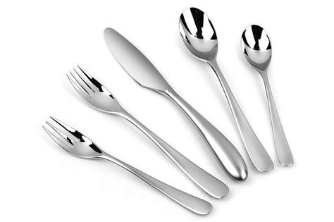 Yamazaki Aquatique Ice Stainless Steel Flatware Set, 20