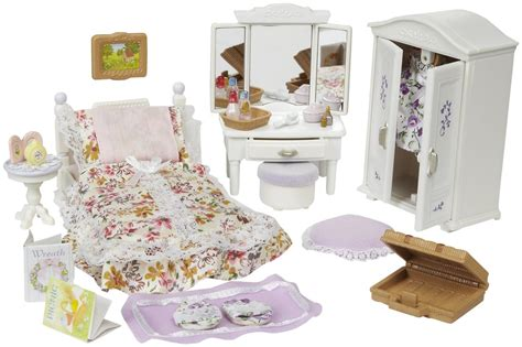 Calico Critters Girl's Lavender Bedroom.