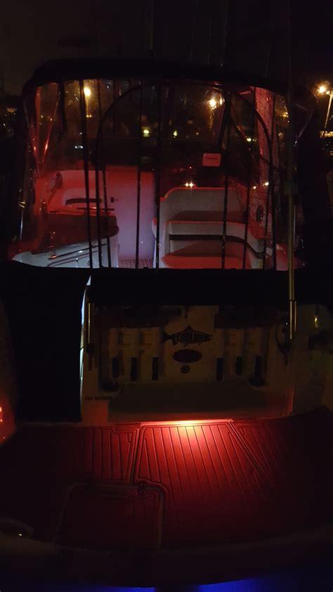 Led Boat Arch Lights by Tri Color Led Lights For Arch Swim Platform Or Hardtop