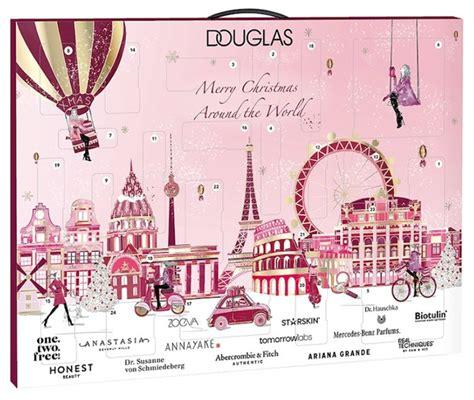 douglas advent calendar  contents release date chic moey