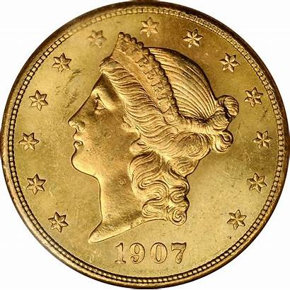 Value 1907 Gold Coin Coins Liberty Current