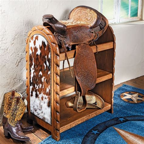 Cowhide Store by Cowhide Saddle Stand