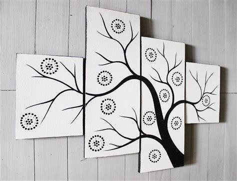 jual lukisan dekoratif hitam putih  lapak danisa art