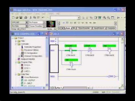 Introduction Plc Ladder Logic Youtube