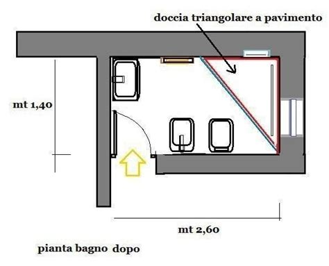 Box Per Doccia A Pavimento by Box Doccia Triangolare Progetto