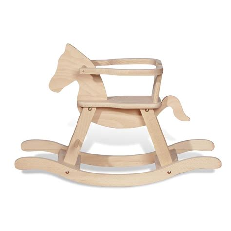 acheter cheval 224 bascule en bois pinolino avec eco sapiens