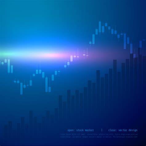 Stock Candele by Stock Market Candle Stick Graph Chart With High And Low