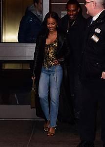 KARRUECHE TRAN Leaves Madison Square Garden in New York 02 ...