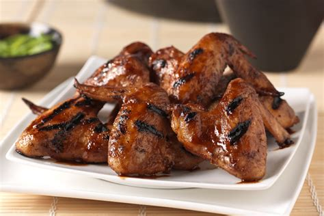 grilled chicken wings sweet spicy grilled chicken wings recipe kraft canada