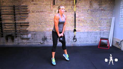 jump squat kettlebell