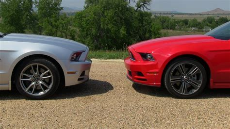 2013 Ford Mustang Gt Vs V6 Mustang 0-60 Mph Mile High