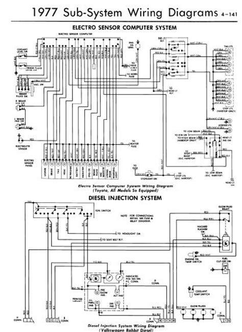 Repair Manuals Electro Sensor Computer System Wiring
