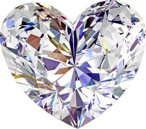 Brilliant Diamond Love Shaped PNG Image - PurePNG | Free ...