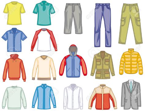 Clip Clothes S Clothing Clipart Clipground