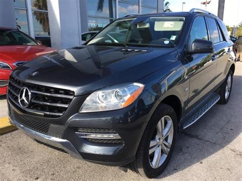 Driven car reviews with tom voelk. 2012 Mercedes-Benz M-Class ML 350 AWD ML 350 4MATIC 4dr SUV for Sale in Miami, Florida ...