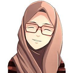 beautiful hijab girl stiker   store