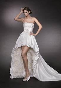 Sexy Designer Brautkleid Vorne Kurz Hinten Lang