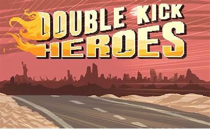 Double Kick Heroes Rocks Refraction Itch Xbox