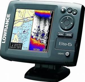 Lowrance Elite 5 Hdi Fishfinder  Plotter Combo