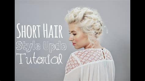 short hairstyle   tutorial milabu youtube